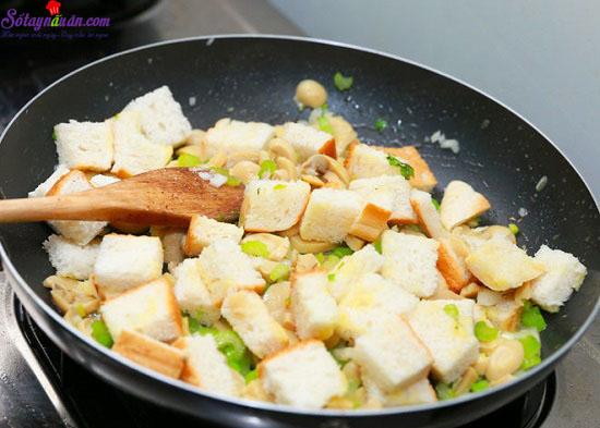 cách làm gà nướng nhồi thập cẩm 7