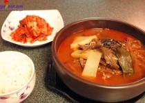 Hướng dẫn cách nấu súp thịt bò kiểu Hàn