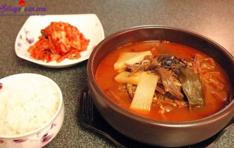 Nấu ăn món ngon mỗi ngày với Giá đỗ, thịt bò nấu kiểu hàn 13