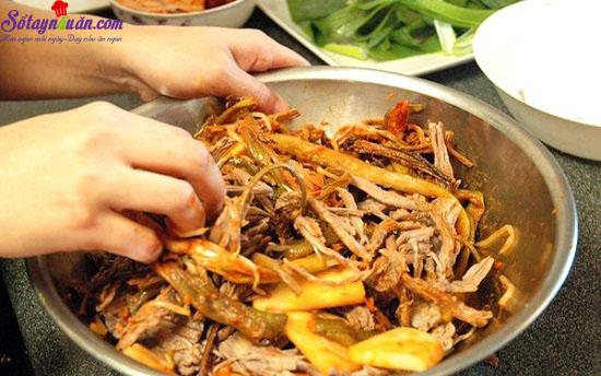 thịt bò nấu kiểu hàn 8
