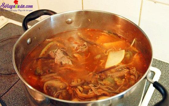 thịt bò nấu kiểu hàn 9