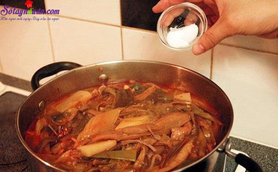 thịt bò nấu kiểu hàn 12