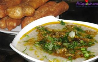 Nấu ăn món ngon mỗi ngày với Hành khô, cách nấu cháo cua đồng 9