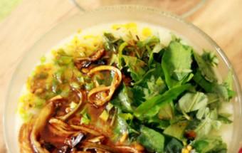 món ăn cho bé, cách nấu cháo lươn 5