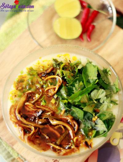 cách nấu cháo lươn 5