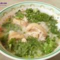 học cách nấu cháo tim gà, cách nấu cháo móng giò hạt sen 2