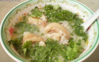 Nấu ăn món ngon mỗi ngày với Gạo tẻ, cách nấu cháo móng giò hạt sen 2
