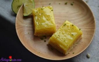 các món bánh, cách làm bánh chanh lạ mà ngon 8