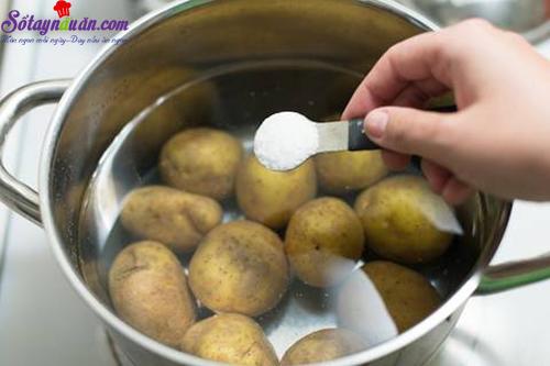 cách làm sườn sốt kem nấm 1