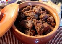 Hướng dẫn làm món thịt bò kho gừng sả ngon tuyệt