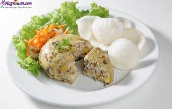 Nấu ăn món ngon mỗi ngày với Mỡ chài, Cách làm chả đùm nhìn là muốn ăn liền kết quả