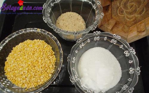 Cách làm chè kho ngon cúng tất niên, giao thừa nguyên liệu