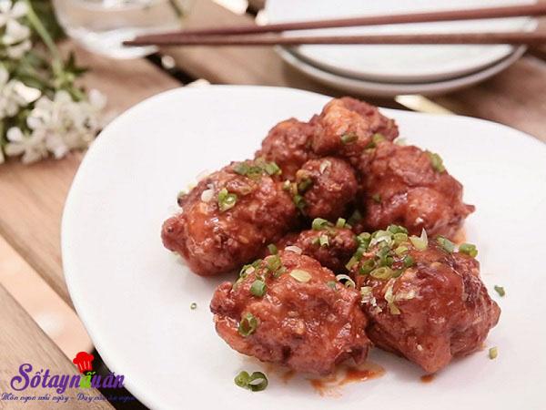 Cách làm gà rán phong cách Hàn quốc nhiều người mê kết quả