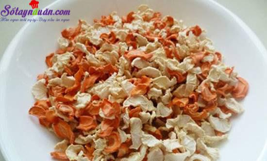 Công thức cho món củ cải ngâm mắm chuẩn tết miền Nam 2