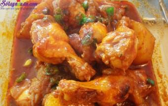 Nấu ăn món ngon mỗi ngày với Ớt xanh, cách làm gà hầm cay kiểu hàn 7