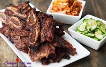 Nấu ăn món ngon mỗi ngày với Kiwi, Bí quyết ướp sườn nướng Hàn Quốc ngon ngất ngây kết quả