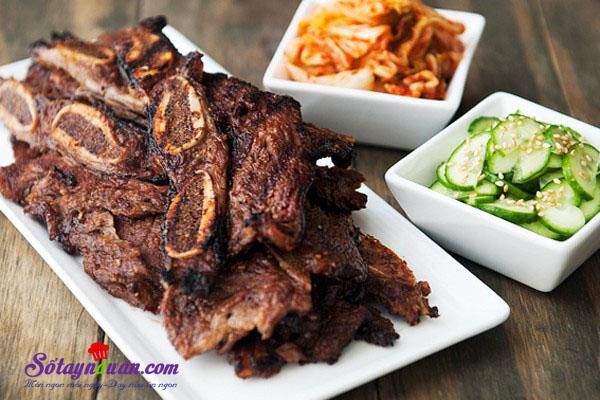 Bí quyết ướp sườn nướng Hàn Quốc ngon ngất ngây kết quả
