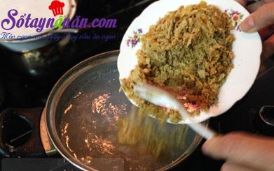 Cách làm bánh trôi tàu nhân lạc rang ngon mê mẩn 9