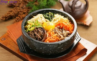 Các món ăn tây, cách làm cơm trộn Hàn Quốc 9
