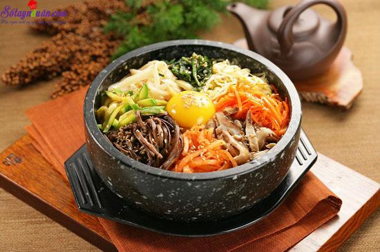 cách làm cơm trộn Hàn Quốc 9