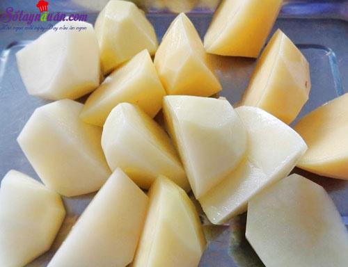 Cách làm khoai tây bọc cá ngừ chiên giòn siêu hấp dẫn 2
