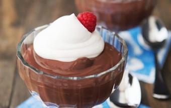 Nấu ăn món ngon mỗi ngày với Bột bắp, Cách làm pudding chocolate ngọt ngào khó chối từ kết quả