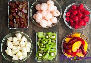 Cách làm thạch hạnh nhân trộn hoa quả ngon mê mẩn 4
