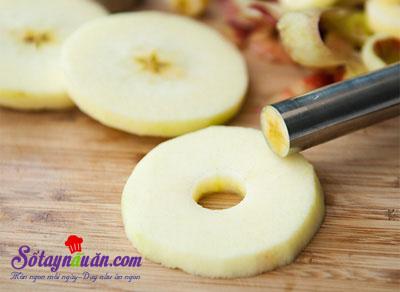 Công thức cho món bánh táo donut ngon mê ly 4