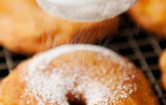 Nấu ăn món ngon mỗi ngày với Táo, Công thức cho món bánh táo donut ngon mê ly kết quả