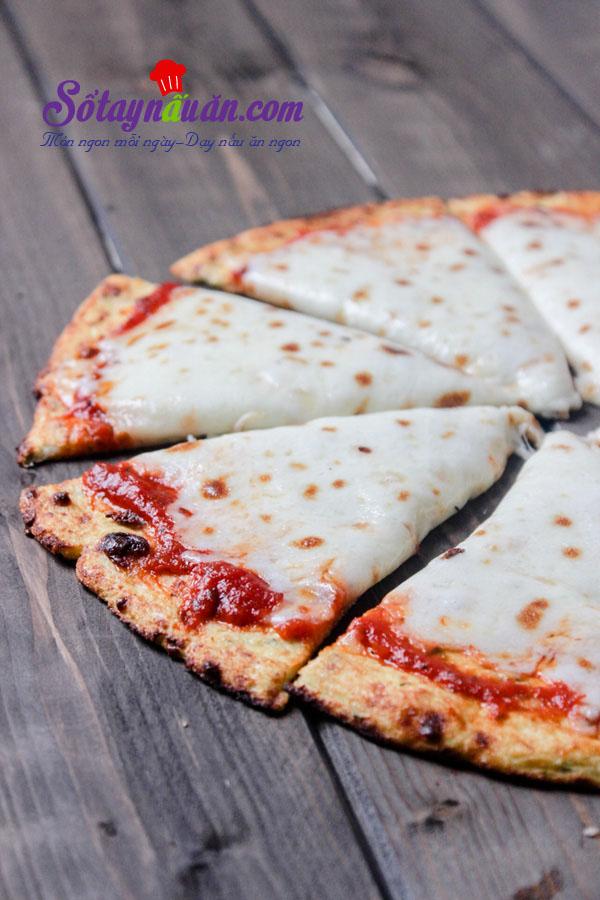 Công thức cho món pizza ăn hoài không béo kết quả