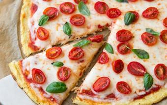 Nấu ăn món ngon mỗi ngày với 300g phô mai mozzarella, Công thức cho món pizza ăn hoài không béo kết quả