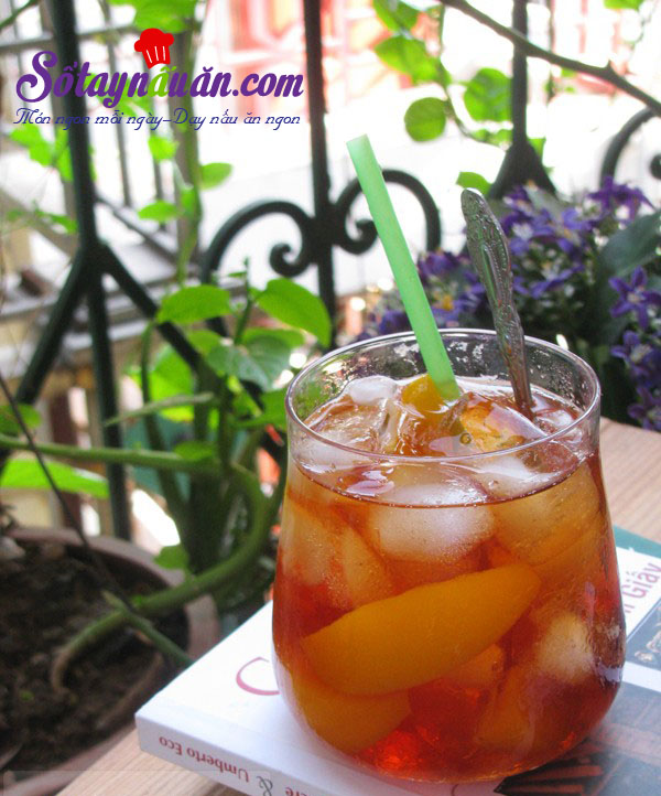Công thức pha trà đào ngon chuẩn vị Sài Gòn kết quả