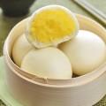 tôm sốt cà ri, Hướng dẫn làm bánh bao nhân trứng xốp mềm thơm ngon kết quả