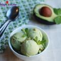 đồ ăn mát, Hướng dẫn làm kem từ quả bơ thơm ngon mát lạnh kết quả