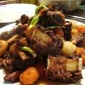 đồ ăn nhật, cách làm sườn bò kho rau củ kiểu hàn 4