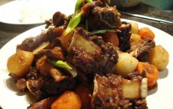 món hầm, cách làm sườn bò kho rau củ kiểu hàn 4
