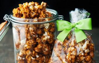 Món ăn vặt, Bắp rang bơ caramel tự làm cực dễ cực ngon kết quả