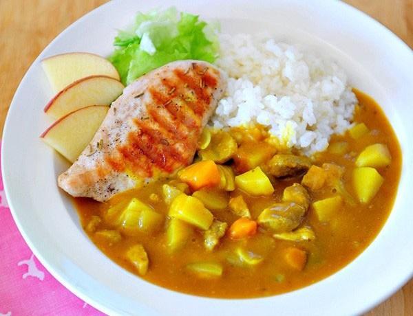 Nấu ăn, Cà ri với gà nướng – sức hấp dẫn không thể chối từ