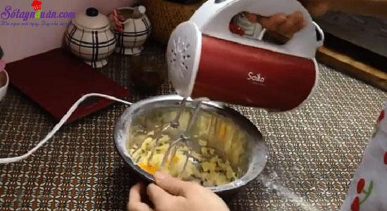 cách làm bánh papparoti 9