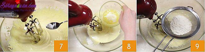 cách làm bánh custard 3