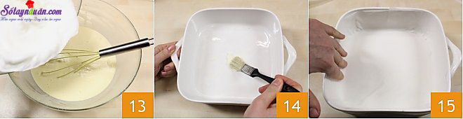 cách làm bánh custard 5