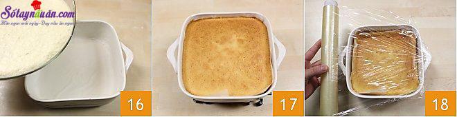 cách làm bánh custard 8