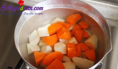 Cách làm gà cà ri với kem lạ miệng mà tuyệt ngon 3