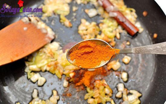 cách làm tôm cà ri 8