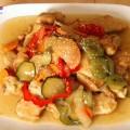 bánh gạo hàn quốc, cách làm thịt chua ngọt kiểu Hàn 15