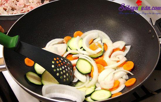 cách làm thịt chua ngọt kiểu Hàn 4