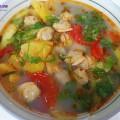nấu canh chua ngao, canh ngao nấu dứa 5