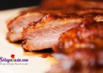 Công thức cho món sườn nướng ướp nước táo ngon mê mẩn