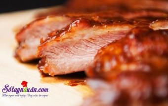 Nấu ăn món ngon mỗi ngày với 15ml xì dầu, Công thức cho món sườn nướng ướp nước táo ngon mê mẩn kết quả