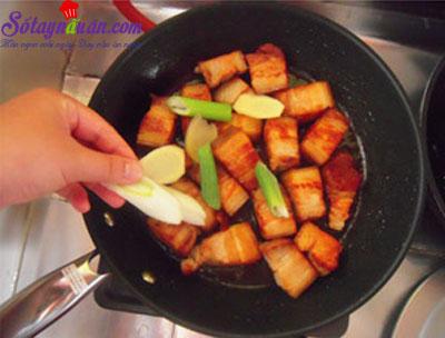 Công thức cho món thịt kho củ năng đậm đà đưa cơm kết quả